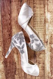 Design Own Shoes Heels These Ivory Wedding Shoes With A Handmade Sparkly Crystal