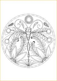 Small Picture Dragonfly Mandala Coloring Pages Coloring Pages Ideas