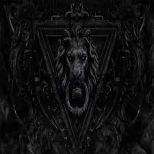 Dark Gothic Lion Wallpaper