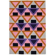 pink and purple rug modern handwoven geometric colorful for rugs uk id f pink and purple rug