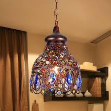 top rated southeast asia thai style small chandelier colored with regard to attractive household colored chandelier crystals decor