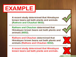 mla in text citations english composition i correct a recent study determined that himalayan brown bears eat both plants and animals in text citations are often