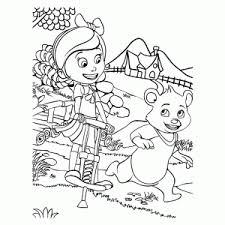 Goldie En Beer Kleurplaten Leuk Voor Kids
