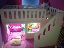 Princess Bed w/ Play Area