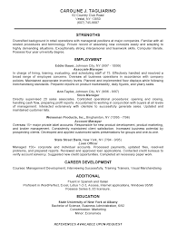 Gallery Of 12 Business Resume Examples Company Resume Examples