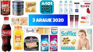 A101 3 Aralık 2020 Aktüel Ürünleri | Gıda Temizlik Ürünleri | A101 Gıda  Ürünleri| A101 Aktüel