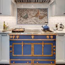 La Cornue Kitchen Designs Beauteous La Cornue It's Blue In Montclair NJ Interior Design By Tracey