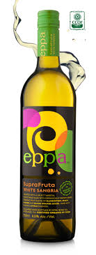eppa suprafruta sangria is crafted in mendocino california with a blend of real antioxidant rich superfruit juices blended with premium varietal
