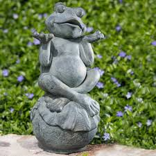 garden ornaments and accessories. Carefree Frog Garden Statue Ornaments And Accessories G