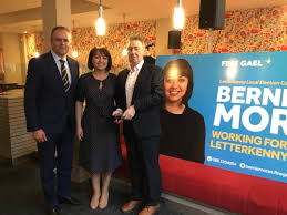 Bernie Moran launches her election campaign in Letterkenny ...