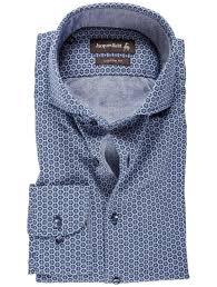 Pattern Shirts Mesmerizing Jacques Britt Blue Octagon Pattern Shirt Louis Copeland