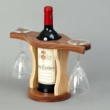 wine bottle and glass holder bevel edge furniture wine bottle glass holder glass holders bottle holders