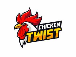 fast food restaurants logo chicken. Simple Food Chicken Twist Fast Food Restaurant Logo Agent Orange Design South Africa For Fast Food Restaurants Logo F