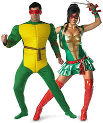 ninja turtles couples costumes. Delighful Ninja TMNT Girl Michelangelo And Turtle Couples Costumes  Fantastiquecostume With Ninja Turtles E