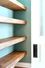 solid wood floating shelves chunky wood floating shelves best wood to floating shelves shelving ideas solid wood floating shelves
