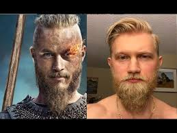 4 long beard + comb over fade. Viking Style First Time Trimming The Beard Youtube