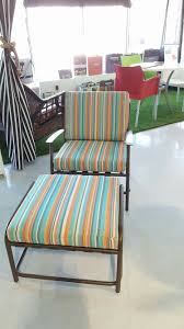 Patio Chair with Footrest Elegant Outdoor Chair Cushion Covers New