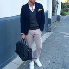 Мужская темно-синяя дорожная сумка из плотной ткани от Ea7 ...