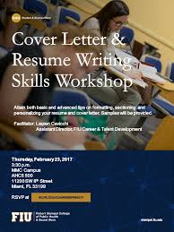 Cover letter and Resume Writing skills Flyer