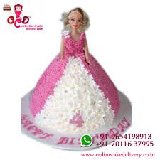 Barbie Cakebarbie Doll Birthday Cakebarbie Doll Cake Design