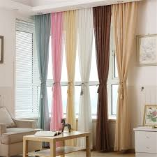 Window Treatment Living Room Online Get Cheap Cotton Window Treatments Aliexpresscom