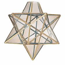 moravian star ceiling light design idea in brass material viewing gallery
