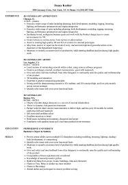 3d Generalist Resume Samples Velvet Jobs