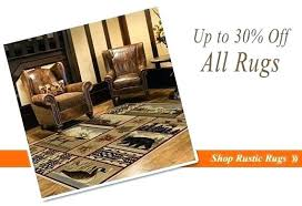 lodge style rugs rustic cabin area