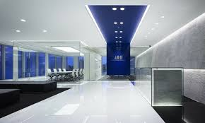 office lighting levels at work. lighting control systems from ex-or were installed throughout a landmark three-storey office building in burgess hill, near brighton. levels at work n