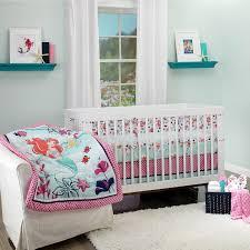 the little mermaid ariel sea treasures 3 piece crib bedding set featuring disney princess disney baby
