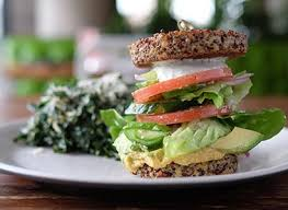True Food Kitchen San Diego Restaurant Interior. Inside Out Quinoa Burger  Dish