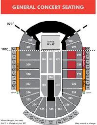 Concert Ticket Layout Magnificent Seating Maps Resch Center