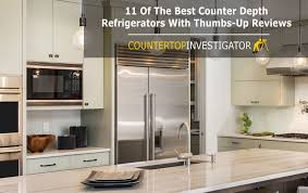counter depth refrigerator in kitchen. counter depth refrigerator buyers guide with 11 reviews in kitchen
