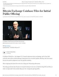 After coinbase has gone public, you'll be able to buy and sell its shares on the stock market like according to chris mcalary, ceo of bitcoin atm operator coincloud, coinbase's ipo could be a way. 2