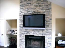 smlf stacked stone fireplace pictures photos veneer fireplaces ideas