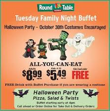 family night buffet celebrate early with round table