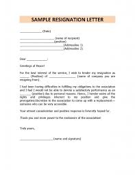 Examples Of Letters Of Resignation cna resume objective cms ...