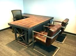industrial style office desk. Industrial Style Office Furniture Mid Century Desk Home