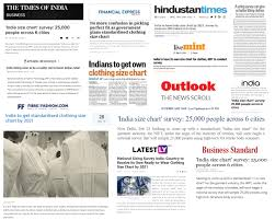 Nift Launches Standard Size Initiative Nift
