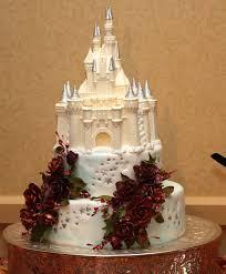 Elegant Disney Wedding Cake Between The Pages