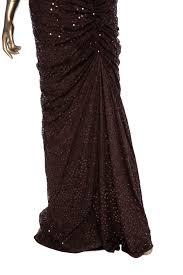 Tadashi Shoji Sequined Evening Gown