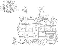 Small Picture Uncle Grandpa Free Printable Coloring Sheet Printable Coloring