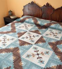 "How to make a king-size quilt quicker: 4 strategies - Stitch This ... & Cabin Flowers quilt "" Adamdwight.com"