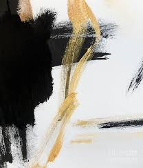 gold black and white modern abstract painting by wall art and home decor painting gold wall art on large white and gold wall art with large abstract painting gold leaf large wall art gold painting