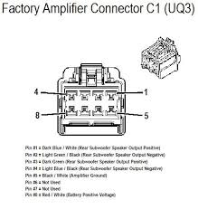 chevrolet hhr wiring diagram chevrolet wiring diagrams online chevrolet 2008 hhr amplifer connector c1 wiring