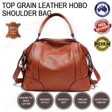 leather hobo shoulder bag ch78