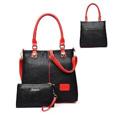 <b>2pcs Women's</b> Handbag Satchel <b>Tote Purse</b> Crossbody Shoulder ...