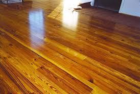 image of heart pine flooring design
