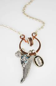 make your own metal look charms clay and resin charm necklace