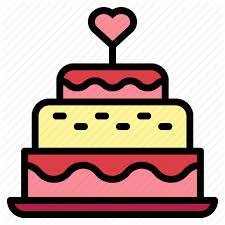 Bakery Birthday Cake Cake Candles Wedding Wedding Cake Icon